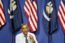 U.S. President Barack Obama attends campaign event at the House of Blues in New Orleans