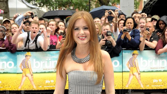 Bruno UK Premiere 2009 Isla Fisher