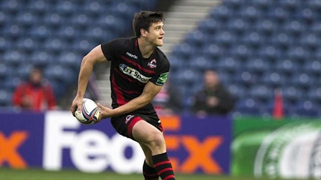 Edinburgh's Harry Leonard helped his team to victory against Zebre.