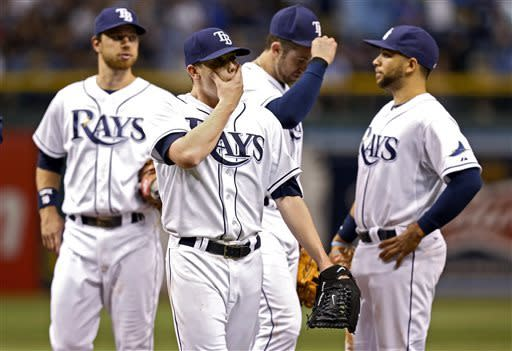 Longoria hits 2-out, 2-run HR in 9th, Rays top SD