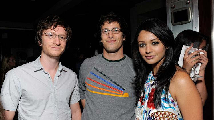 Bollywood Hero LA Screening 2009 Akiva Schaffer Andy Samberg Pooja Kumar