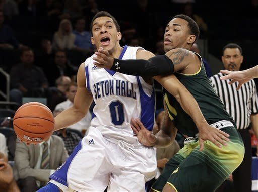Seton Hall tops USF in OT at Big East tournament