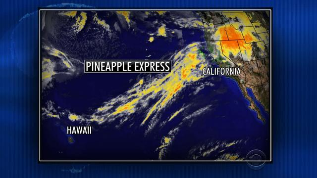 Pineapple Express soaks parts of drought-stricken West