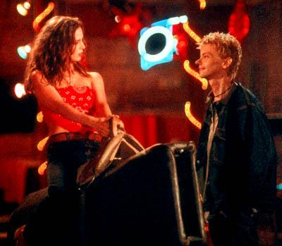 Eliza Dushku and DJ Qualls in Columbia's The New Guy