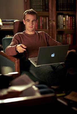 James Van Der Beek as Dawson in WB's Dawson's Creek