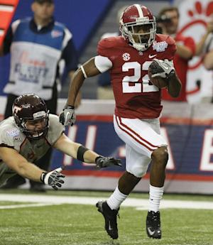 Christion Jones leads No. 1 Bama past VaTech 35-10