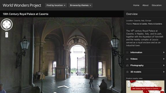 Virtually Travel the Globe with Google World Wonders Project