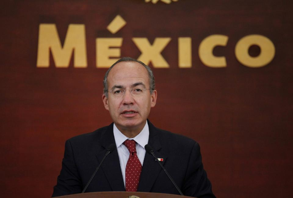 Mexico's President Calderon fell short of goals