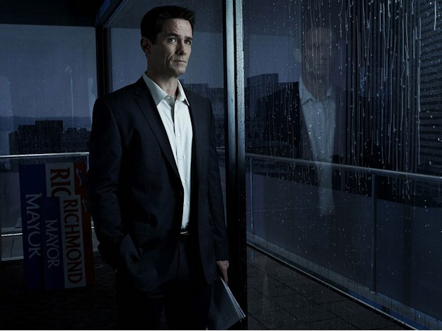 "Billy Campbell as Darren Richmond in ""The Killing."""