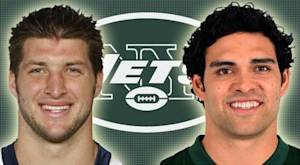 Jets attempting red-zone balancing act with Sanchez, Tebow