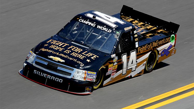 Daytona Camping World Truck Series lineup