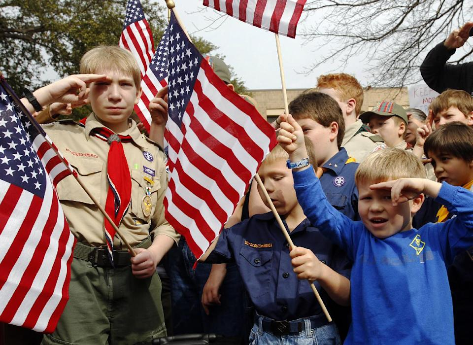 Boy Scouts boot openly gay scout leader