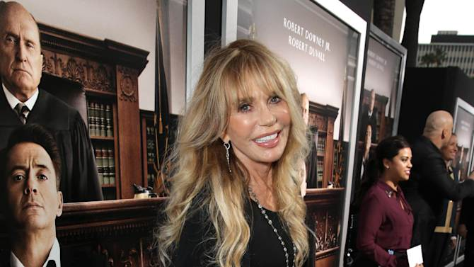 """Dyan Cannon seen at Warner Bros. Picture's Los Angeles Premiere of """"The Judge"""" held at Samuel Goldwyn Theatre, AMPAS on Wed, Oct 1, 2014, in Los Angeles. (Photo by Eric Charbonneau/Invision for Warner Bros./AP Images)"""