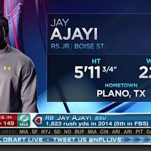 Miami Dolphins pick running back Jay Ajayi No. 149 in 2015 NFL Draft
