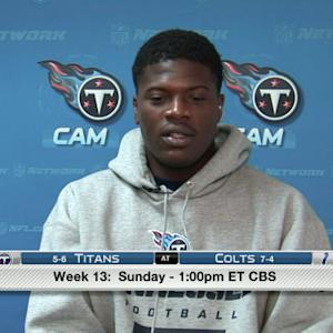 Tennessee Titans wide receiver Kendall Wright on potentially making the playoffs