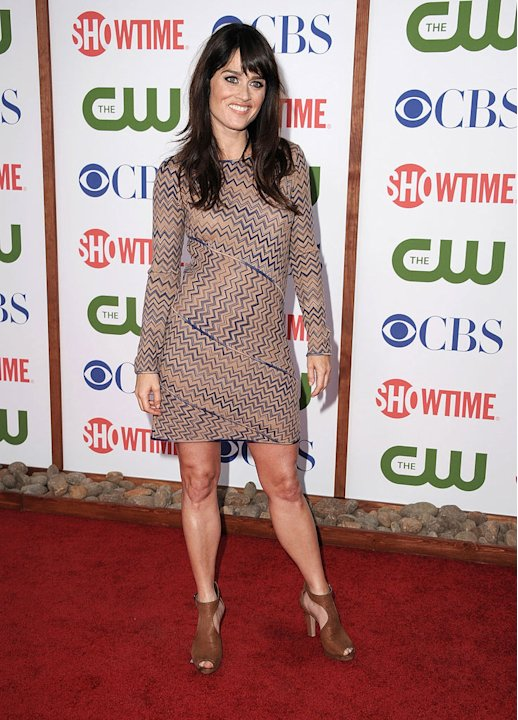 "Robin Tunney of ""The Mentalist"" attends the CBS, The CW, and Showtime 2011 Summer TCA Party at The Pagoda on August 3, 2011 in Beverly Hills, California."