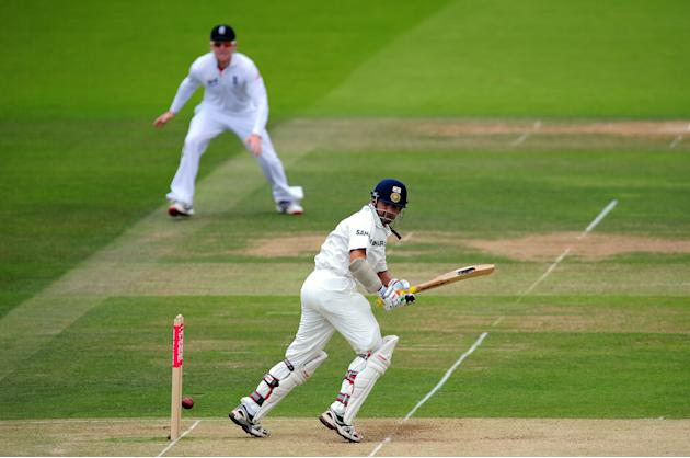 England v India: 1st npower Test - Day Three