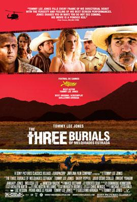 Tommy Lee Jones directs and stars in Sony Pictures Classics' The Three Burials of Melquiades Estrada