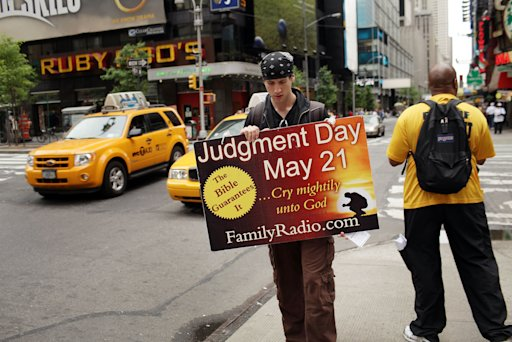 may 21 judgement day yahoo. hot is may 21 judgement day.
