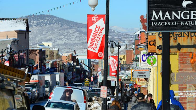Park City Prepares For The 2013 Sundance Film Festival