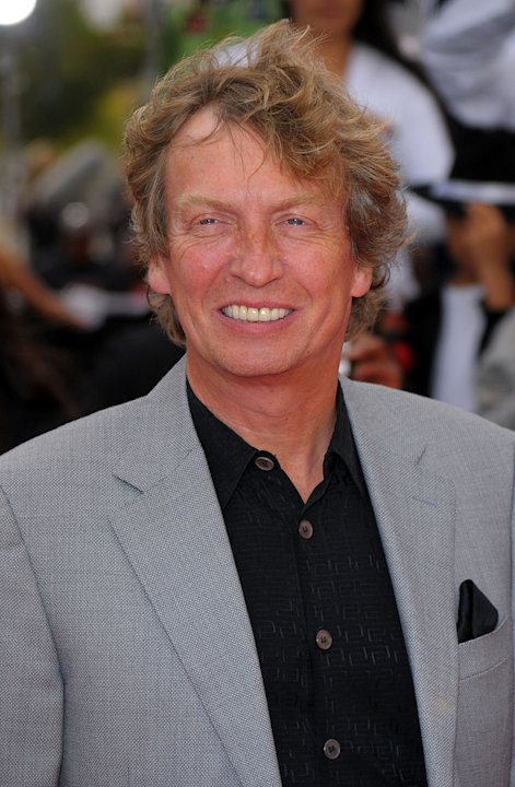 Michael Jackson's This Is It LA Premiere 2009 Nigel Lythgoe