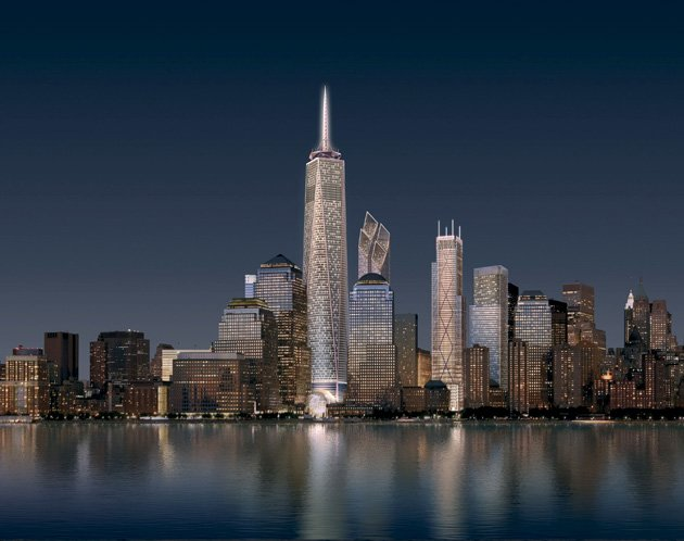 New World Trade Center Office Towers Design Unveiled