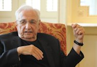 US based architect Frank Gehry, pictured in 2009, has been hired to design the company's campus expansion, which includes a new building with a rooftop garden