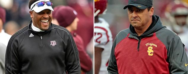 A&M coach accidentally tweets joke on USC coach
