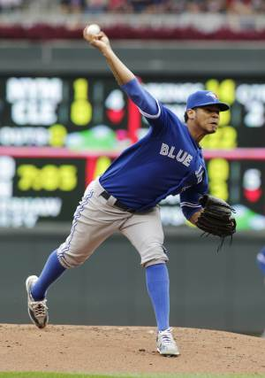 Rogers, Reyes lead Blue Jays to sweep over Twins