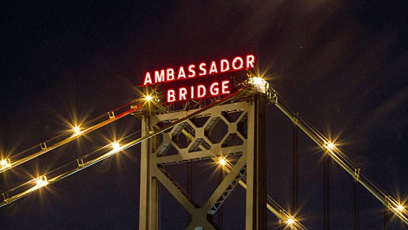 Ambassador Bridge president Dan Stamper claims the government is using its position of power to try and run the Ambassador Bridge out of business, which has been opened since 1927.