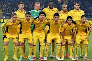 Metalist disqualified from Champions League