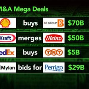 What's the Driving Force Behind Mega Merger Deals?