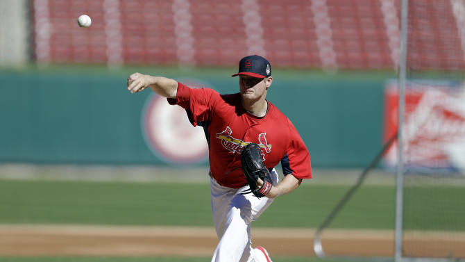 Cardinals' Shelby Miller armed for next season