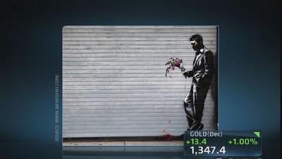 Banksy makes his mark on NYC