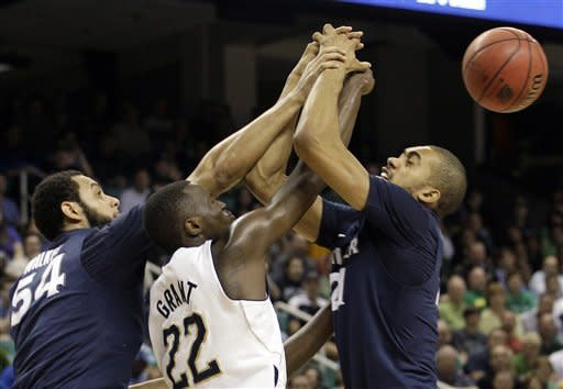 Xavier edges Notre Dame 67-63 in NCAA 2nd round