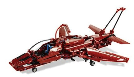 Advanced LEGO Set: Technic Jet Plane