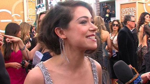 Tatiana Maslany On Her 'Surreal' Golden Globes Red Carpet Experience & 'Orphan Black' Season 2