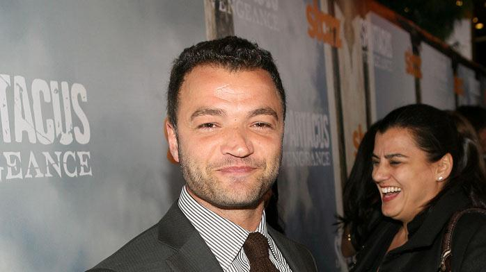 "Nick Tarabay attends the Starz Original Series ""Spartacus: Vengeance"" Premiere Event at ArcLight Cinemas Cinerama Dome on January 18, 2012 in Hollywood, California."