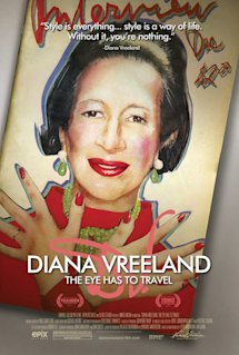 Poster of Diana Vreeland: The Eye Has to Travel