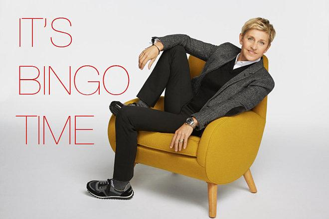 TV Time: Play the 'Ellen's Design Challenge' Unofficial Bingo Game