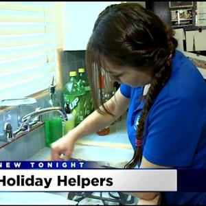Cleaning For A Reason: Holiday Helpers Lend A Hand To Cancer Patients