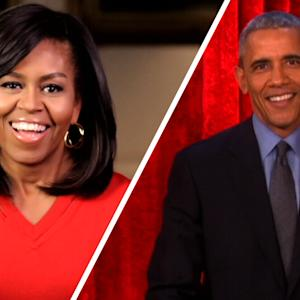 Michelle and Barack Obama Exchange Valentine's Day Messages on 'Ellen'