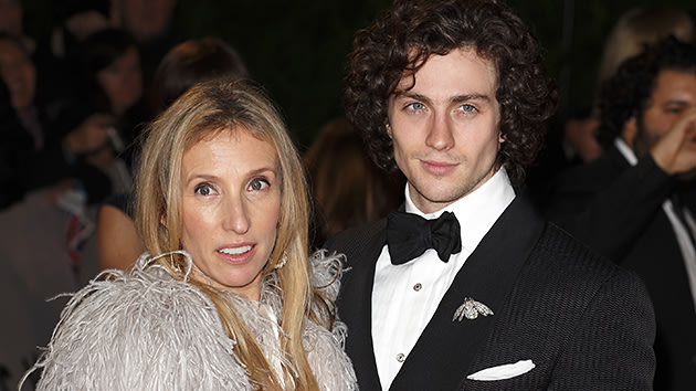 Director Sam Taylor-Johnson and husband Aaron Taylor-Johnson