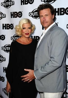 """Tori Spelling and Dean McDermott attend the 2011 Outfest Opening Night Gala of """"Gun Hill Road"""" at the Orpheum Theatre, Los Angeles, on July 7, 2011 -- Getty Images"""
