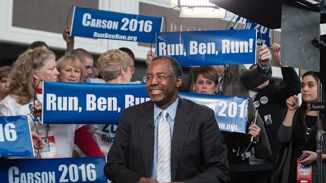 US neurosurgeon Ben Carson has announced he is seeking the Republican Party's presidential nomination