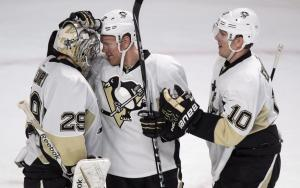 Fleury has 27 saves, Penguins blank Canadiens 4-0