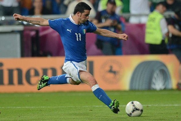 Italian Forward Antonio Di …