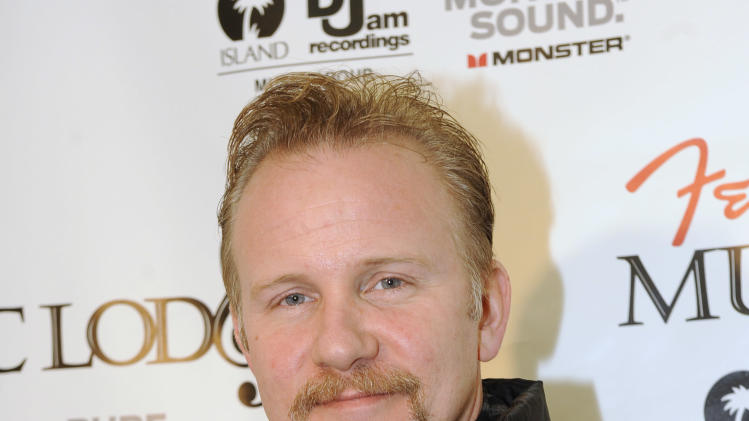 Producer Morgan Spurlock poses at the Fender Music lodge during the Sundance Film Festival on Monday, Jan. 21, 2013, in Park City, Utah. (Photo by Jack Dempsey/Invision for Fender/AP Images)