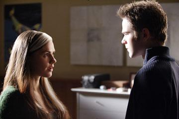Anna Paquin as Rogue and Shawn Ashmore as Iceman in 20th Century Fox's X-Men: The Last Stand