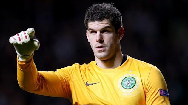 Celtic have made it clear Fraser Forster is not for sale